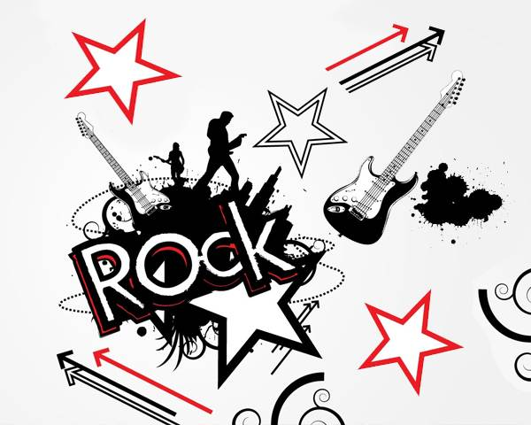 80s hair band clipart jpg library stock 17+ Rock Star Clipart | ClipartLook jpg library stock