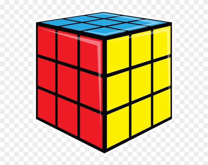 80s rubixcube clipart vector transparent library 80\'s Oversized Mini Bundle - Rubix Cube 3d Model Clipart (#1052953 ... vector transparent library