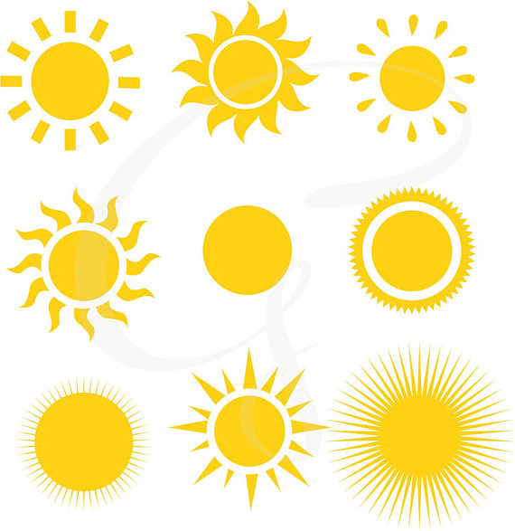 80s sun clipart banner free stock Sun clipart, Sun Digital Clipart, sunshine, commercial use, sun ... banner free stock