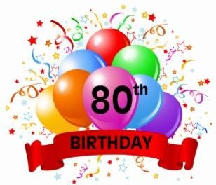 Happy 80th Birthday Parkside ... | 80th birthday | Happy 20th ... freeuse download