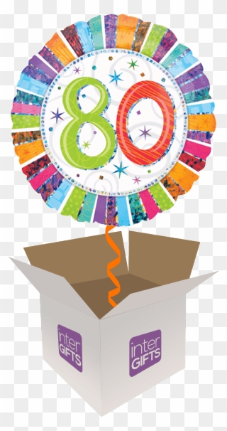 Free PNG 80th Birthday Clip Art Download - PinClipart svg black and white library