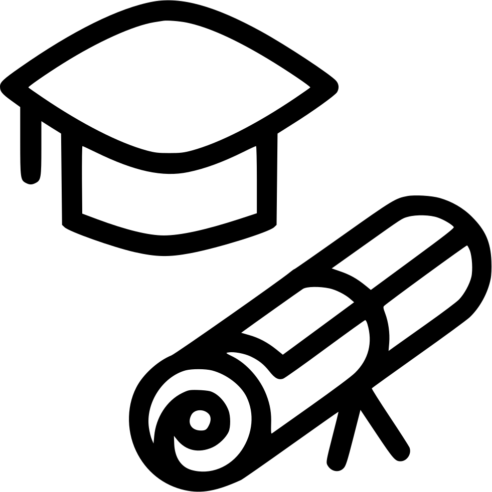 Diploma Clipart College Diploma Free - Graduation Certificate Icon ... png free download