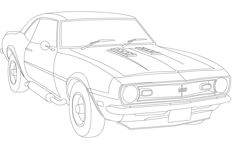 89 camaro clipart vector transparent 1969 chevrolet camaro | Chevy Camaro WIP by ~Dragonsrule-89 on ... vector transparent