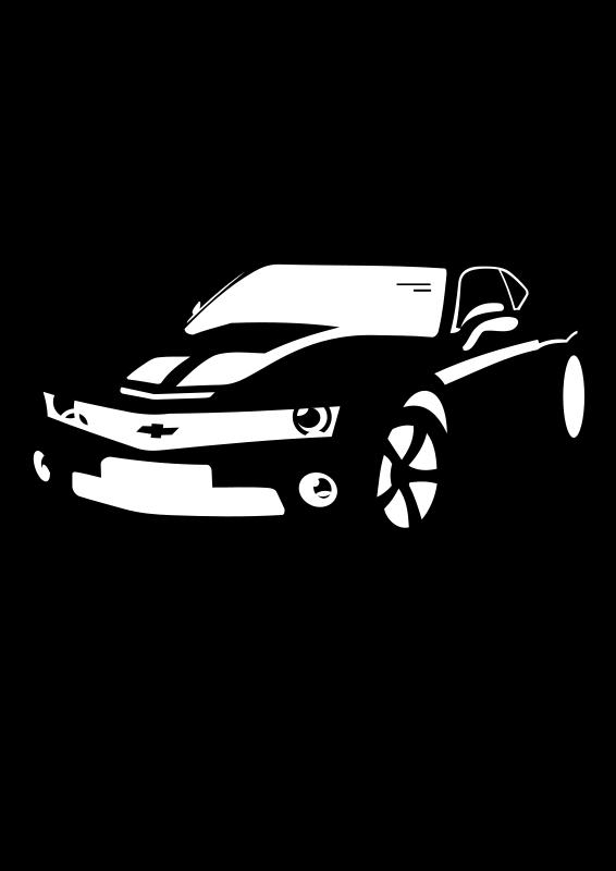 89 camaro clipart svg transparent download Chevrolet Camaro Sports car Vector graphics - chevrolet png download ... svg transparent download