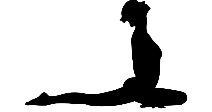 890 s clipart png free Yoga Silhouette Asana Clip art - Yoga png download - 890*470 - Free ... png free