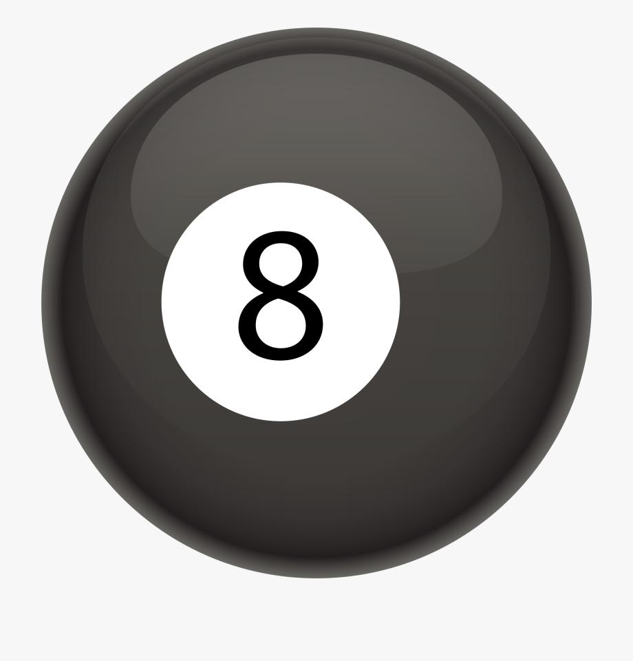 8ball clipart png transparent Billiards Ball Clipart Clipart Panda - Public Domain Pool 8 Ball ... png transparent