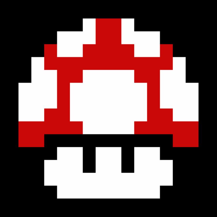 8bit snowflake clipart image royalty free 8-Bit Mushroom by NathanMarino | Mine | Pinterest | Mushrooms ... image royalty free
