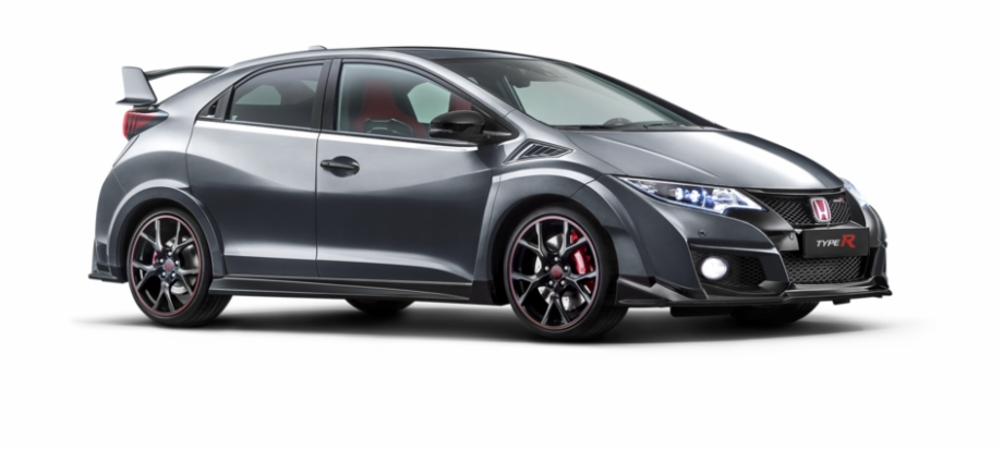 8th civic clipart vector royalty free 9th Gen Fk2 - Honda Civic Type R Grey 2015 Free PNG Images & Clipart ... vector royalty free