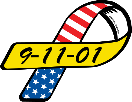 9 11 01 clipart vector black and white download 9-11-01 - Custom Ribbon vector black and white download