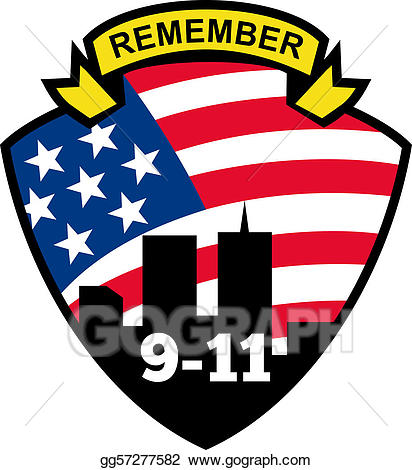9 11 remember clipart