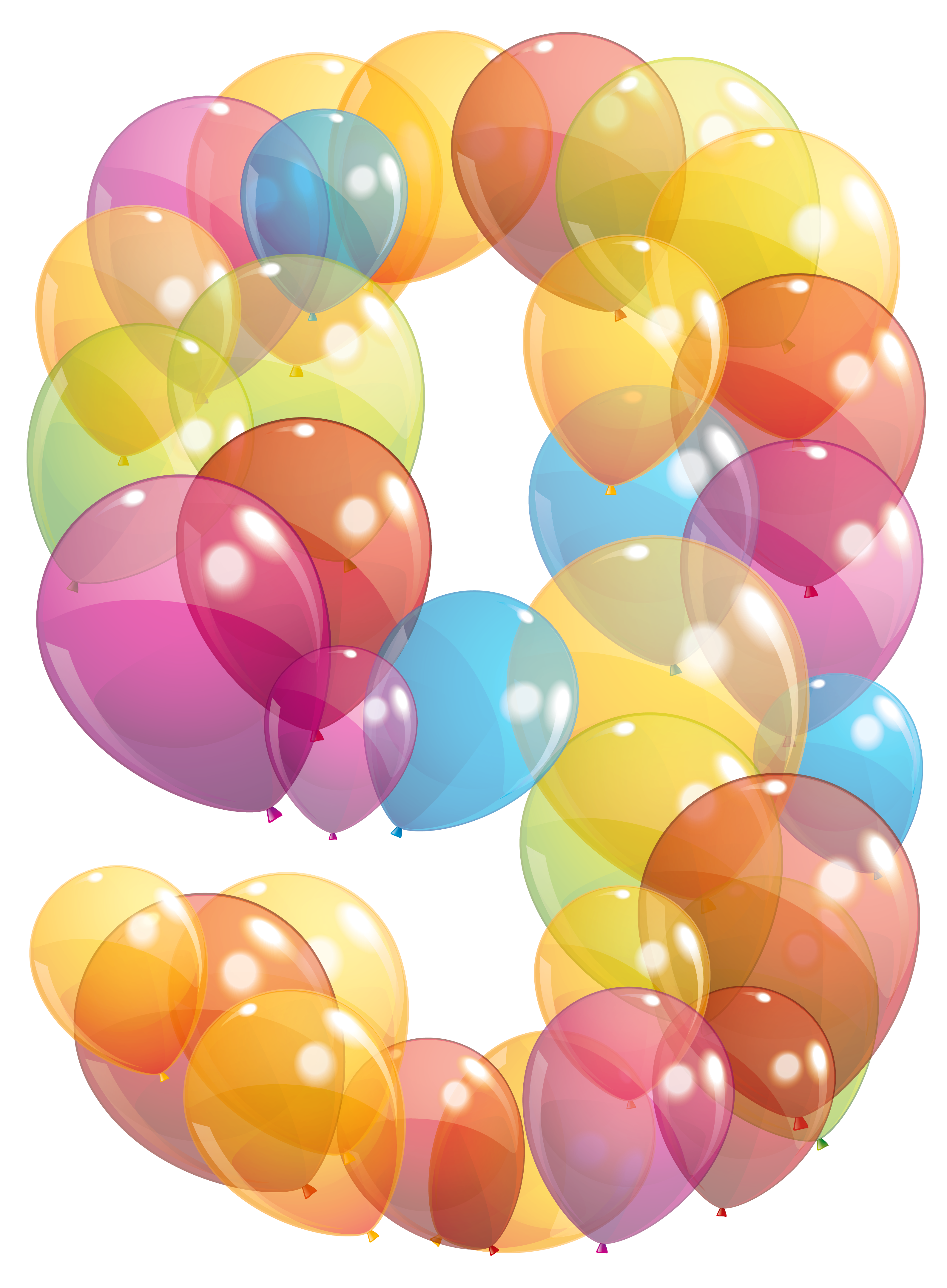 9 balloons clipart jpg free download Pin by Валентина on Цыфры | Balloons, Clipart images, Clip art jpg free download