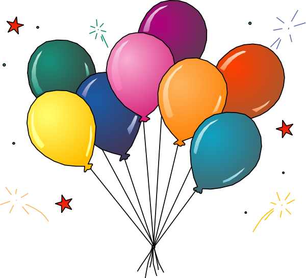Clipart of balloons clipart library download Party balloons clipart free images - Clipartix clipart library download