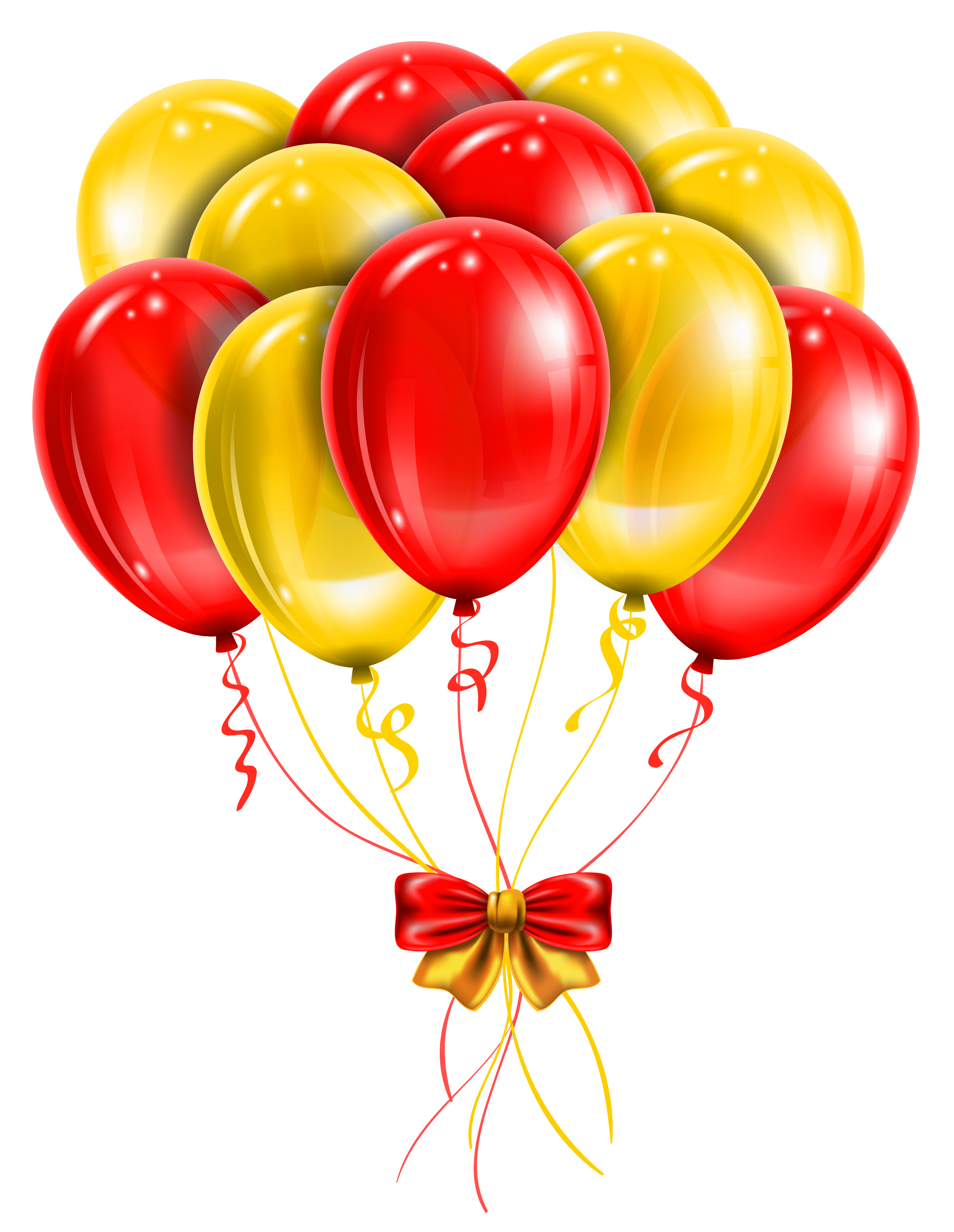 9 balloons clipart clip art download Balloon Red Clip art - Transparent Red Yellow Balloons PNG Picture ... clip art download