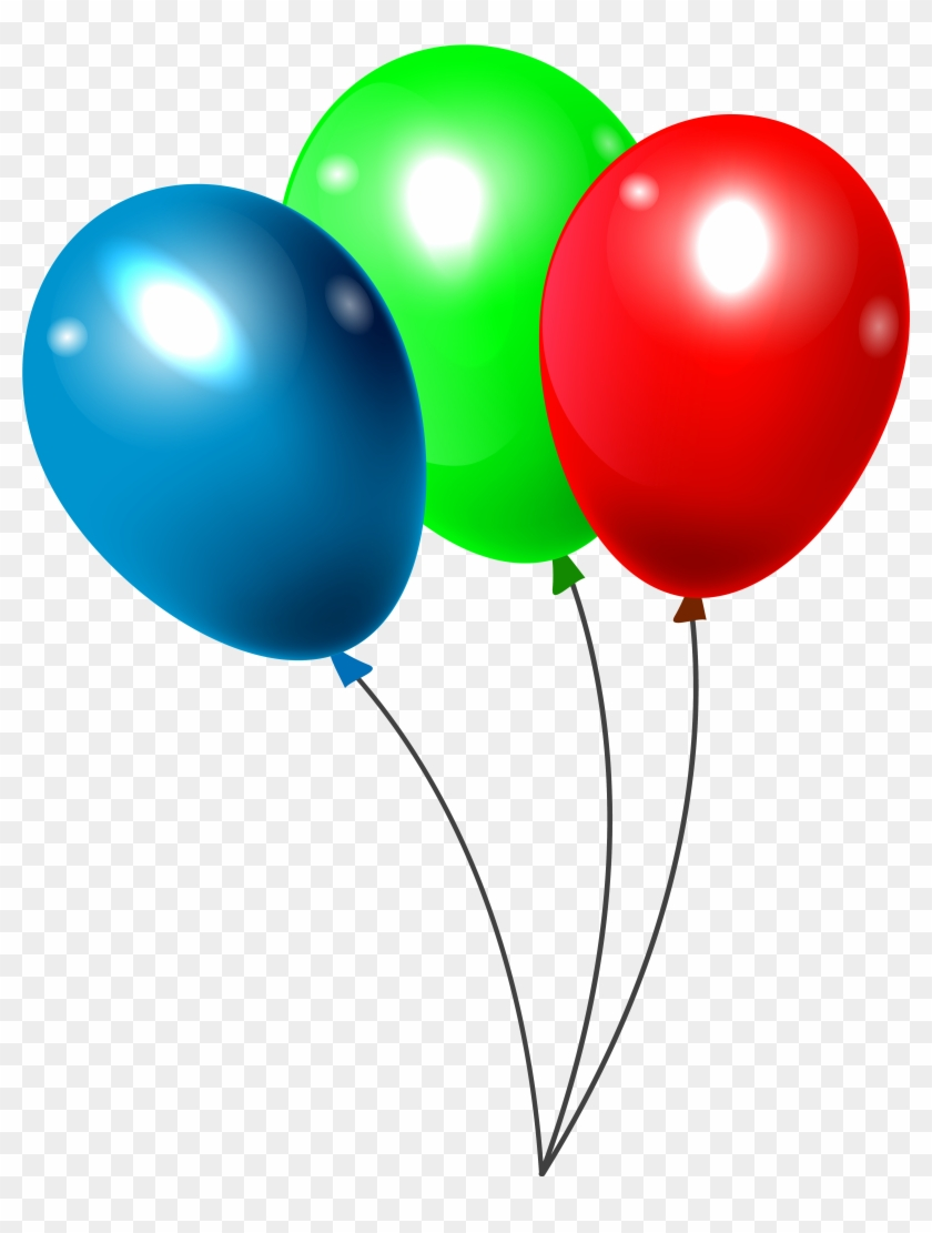 9 balloons clipart banner Real Balloons Cliparts 9 - 840 X 1111 - Making-The-Web.com banner
