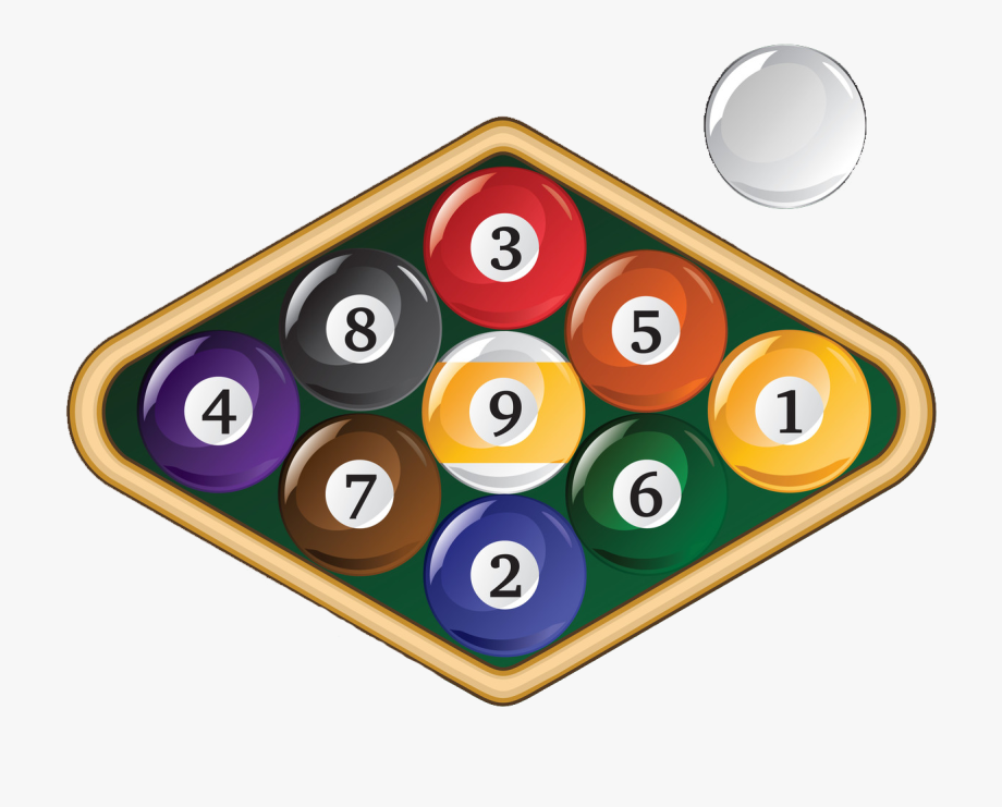 9 balls clipart svg download 8 Ball Pool Clipart 9 Ball - Billiard Ball #146155 - Free Cliparts ... svg download