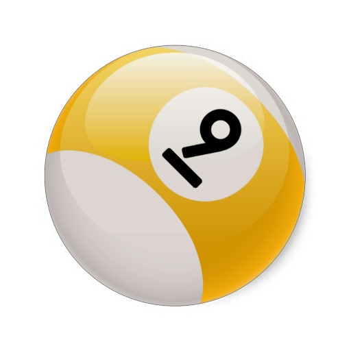 Yellow 9 ball clipart svg black and white 9 ball clipart 1 » Clipart Station svg black and white