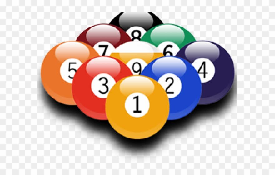 9 balls clipart graphic black and white Billiard 9 Ball Png Clipart (#1125638) - PinClipart graphic black and white