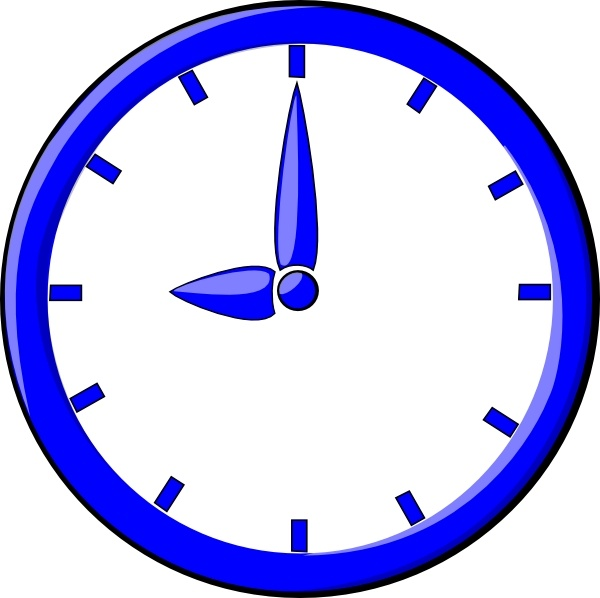 9 O\'clock clip art Free vector in Open office drawing svg ( .svg ... picture stock