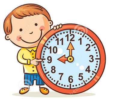 9 pm clock clipart png free Telling The Time in English - English Study Page png free