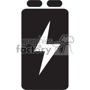Battery clipart 9v black and white stock battery 9 volt vector icon art . Royalty-free icon # 402384 black and white stock