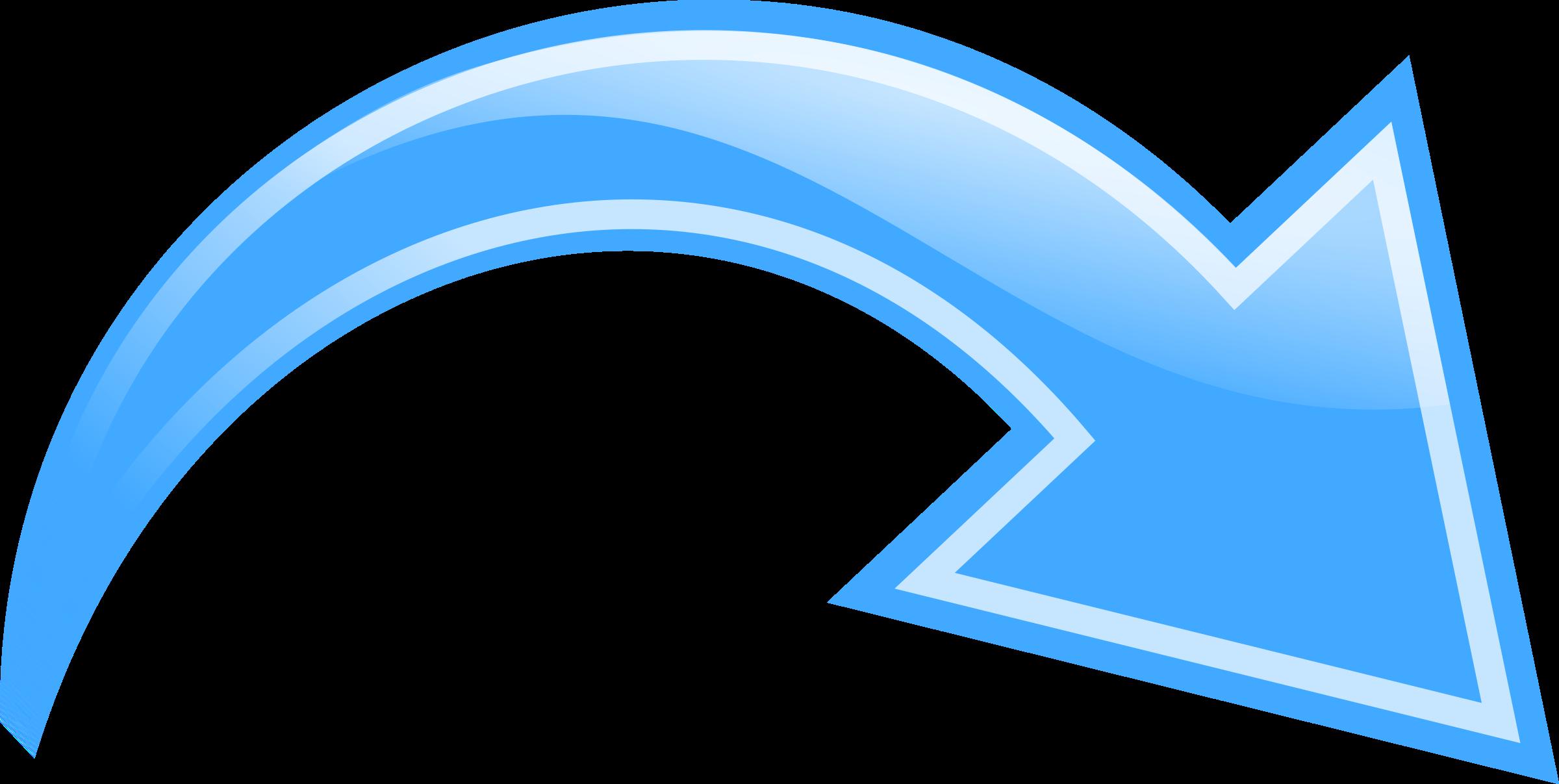 Bent arrow clip art