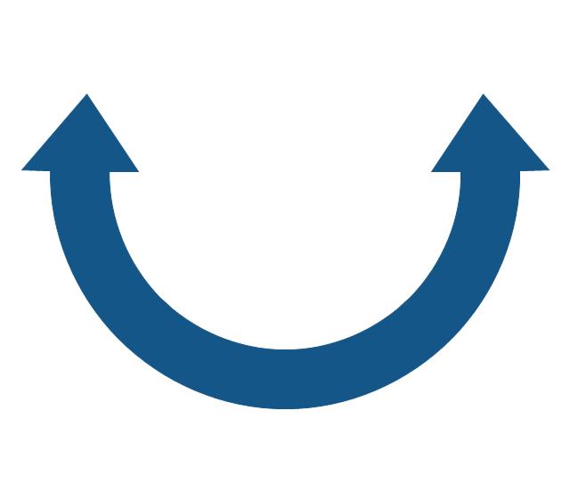 Glyph icons - Vector stencils library | Arrows - Vector clipart ... clipart transparent stock