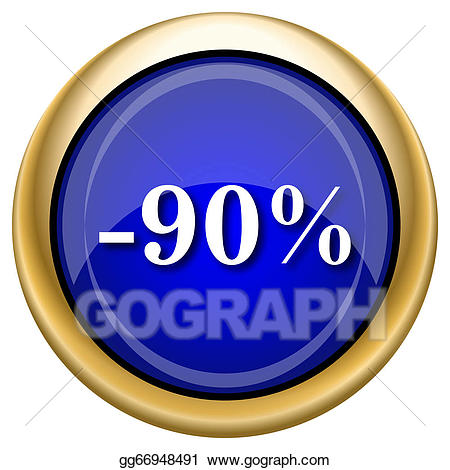 90 percent clipart banner library Clipart - 90 percent discount icon. Stock Illustration gg66948491 ... banner library
