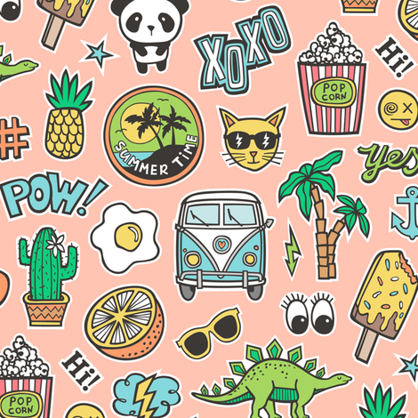 90 s clipart doodles png freeuse Doodles,Patches & Stickers Part 2 - 14 designs by caja_design freeuse