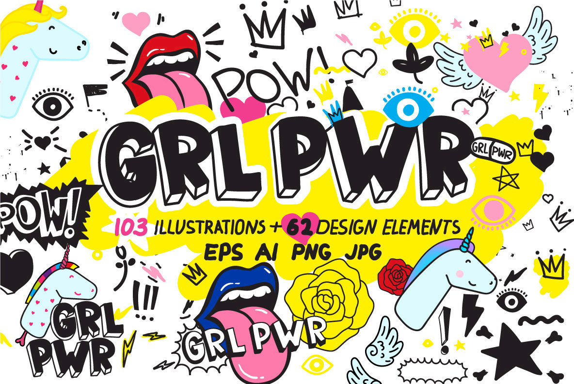 90 s clipart doodles png vector library 170 Doodles, Elements and Patterns vector library