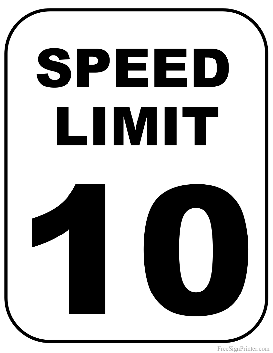 Free Speed Limit Sign, Download Free Clip Art, Free Clip Art on ... clip art free download