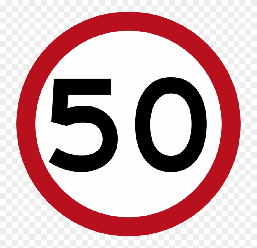 Speed Limit Tha B-32 - Speed Limit 90km H Clipart (#3613133 ... vector library library
