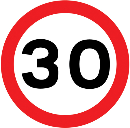 Free Speed Limit Sign, Download Free Clip Art, Free Clip Art on ... black and white download