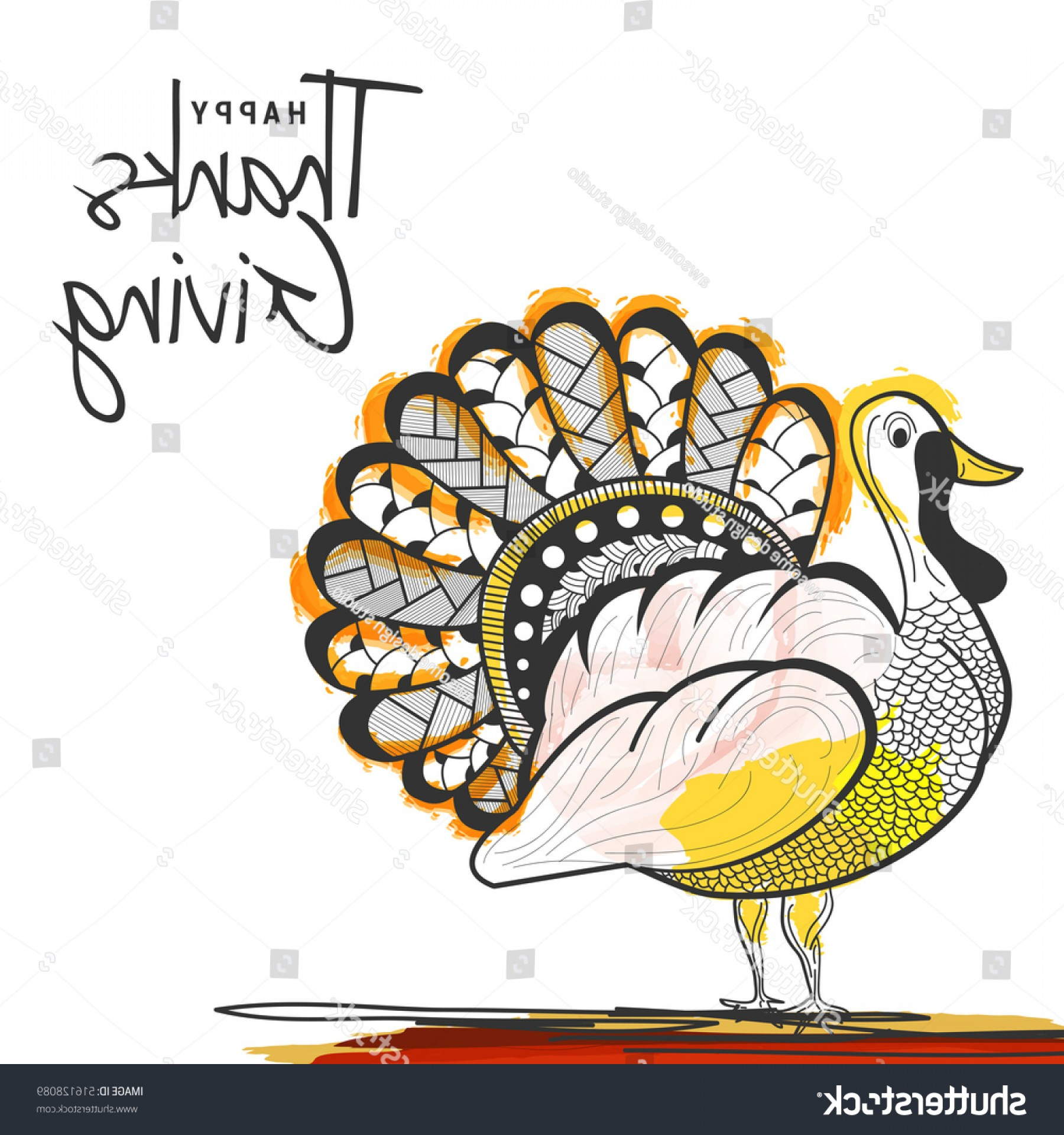 90a clipart picture transparent Beautiful Banner Poster Happy Thanksgiving Day | SOIDERGI picture transparent