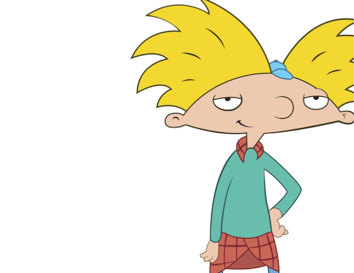 Hey Arnold!\'s Greatest Fashion Moments | Complex clipart transparent library
