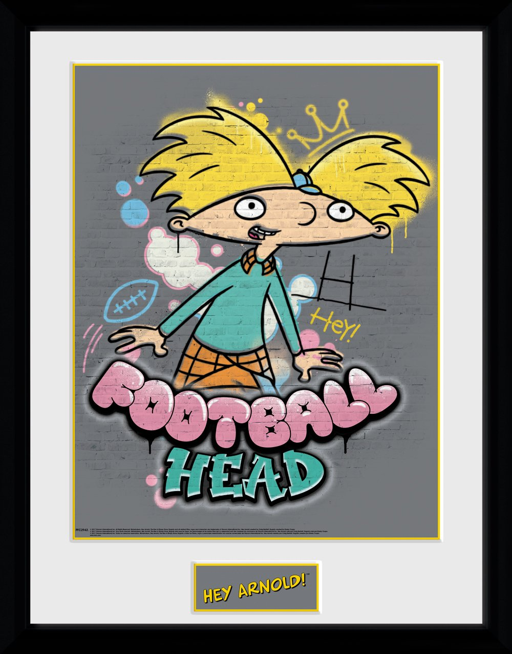 Hey Arnold image royalty free