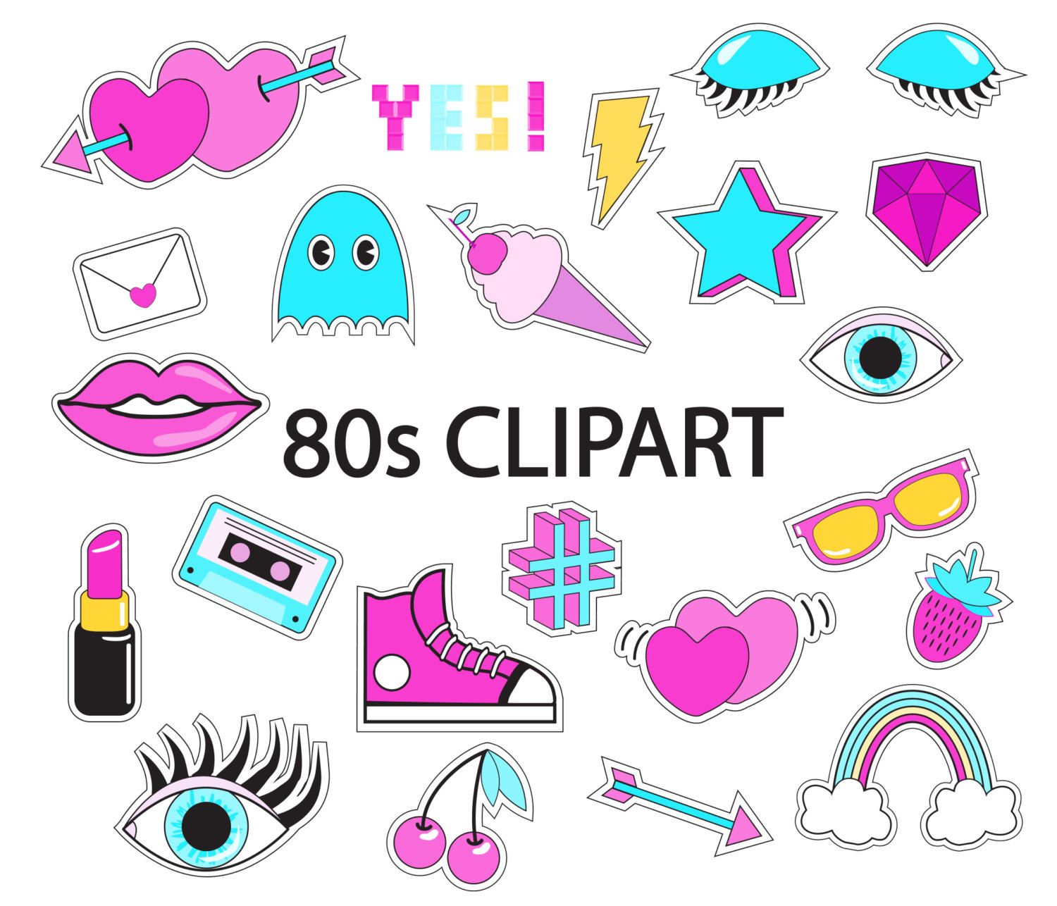 90s clipart free svg freeuse stock 80s Clipart Overlay, 80s Vector 90s, 80\'s Clipart 90s Clip Art ... svg freeuse stock