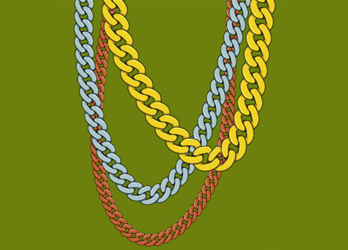 90s gold chain clipart library A Gold Mine of Adobe Illustrator Resources   The JotForm Blog library