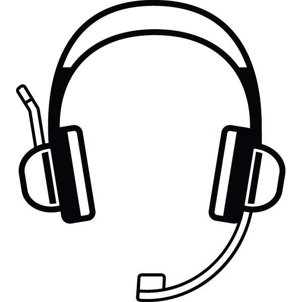 Collection of Headset clipart | Free download best Headset clipart ... clip transparent