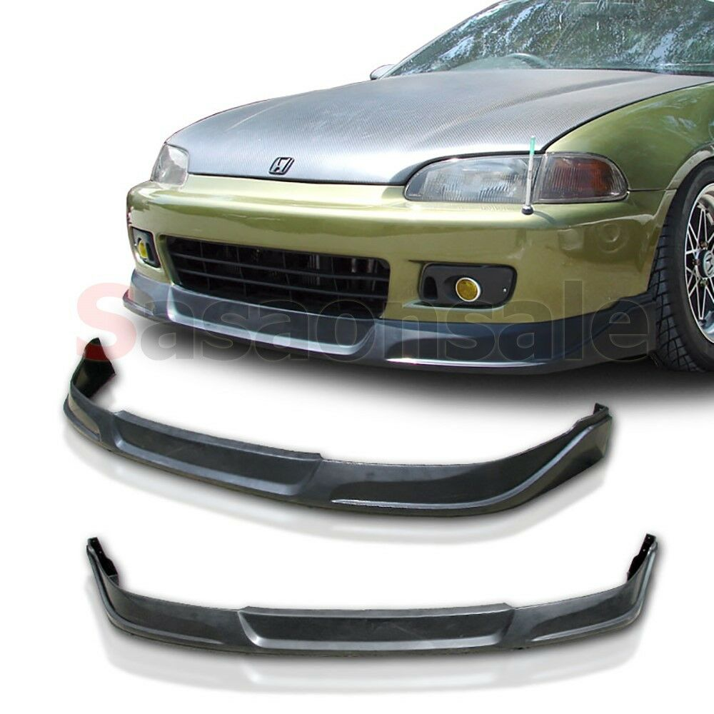 95 civic hatch clipart image freeuse library Details about Fit for 92-95 Honda Civic Coupe Hatchback JDM TCS Style Front  Bumper Add on Lip image freeuse library