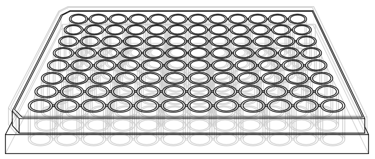 96 well plate clipart image library library Beautiful 96 Well Plate Template Cyberuse - Ronniebrownlifesystems image library library