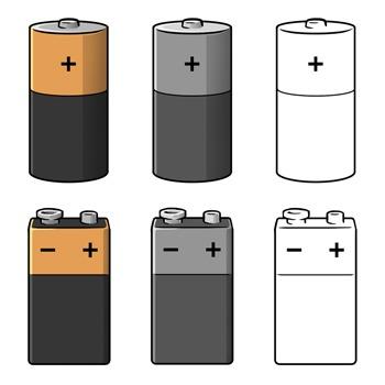 9v battery clipart jpg transparent stock Battery Clip Art jpg transparent stock