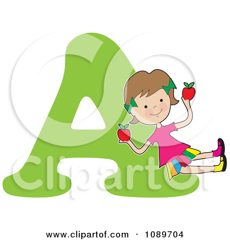 A alphabet letter apple clipart png library download Apple Letters Clipart png library download
