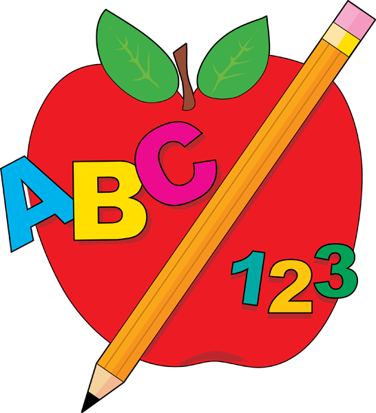 School worksheet clipart freeuse library Abc apple clipart - ClipartFest freeuse library