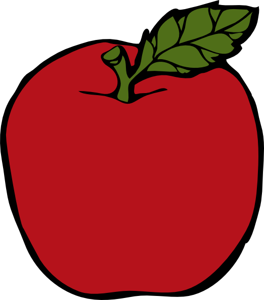 Apple rose clipart graphic library library School Apple Clip Art | Clipart Panda - Free Clipart Images graphic library library