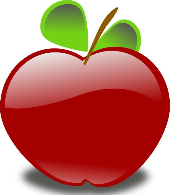 Teal apple clipart picture library download School Apple Clip Art | Clipart Panda - Free Clipart Images picture library download