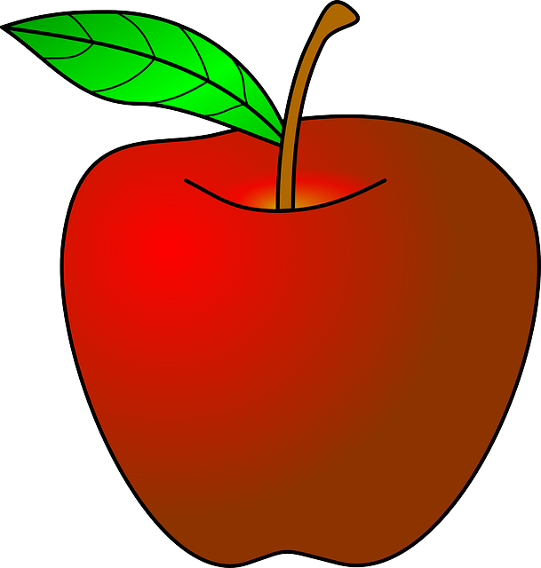 Free clipart apple leaf clip freeuse library Teacher With Apple PNG Transparent Teacher With Apple.PNG Images ... clip freeuse library