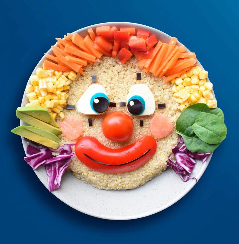 Clown - Poke Bowl - Beko Eat Like A Pro EN clipart