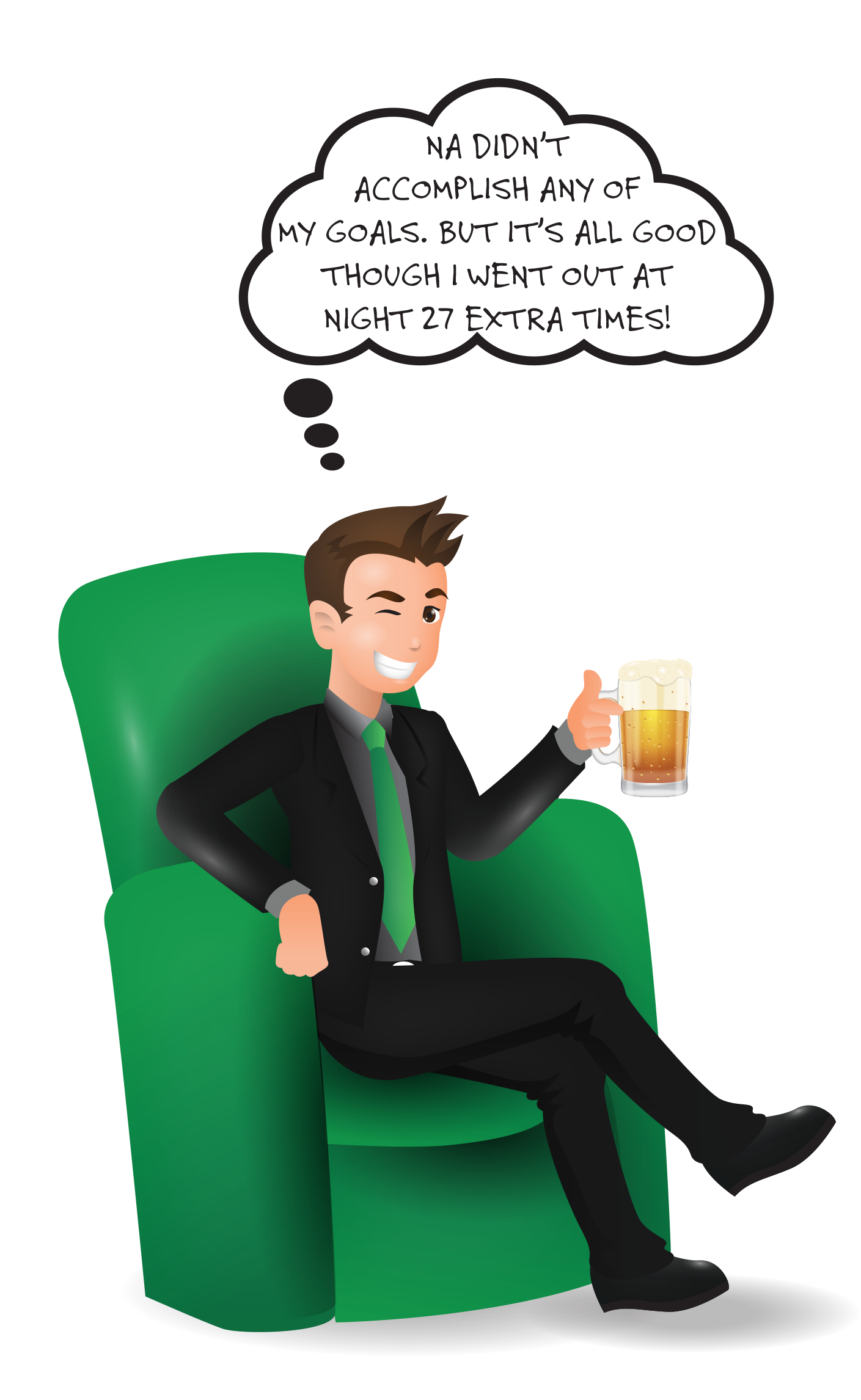 A banker giving an unemployed person money clipart jpg royalty free download How To Set Goals If You're Not Sure What You Want - Forever Jobless jpg royalty free download