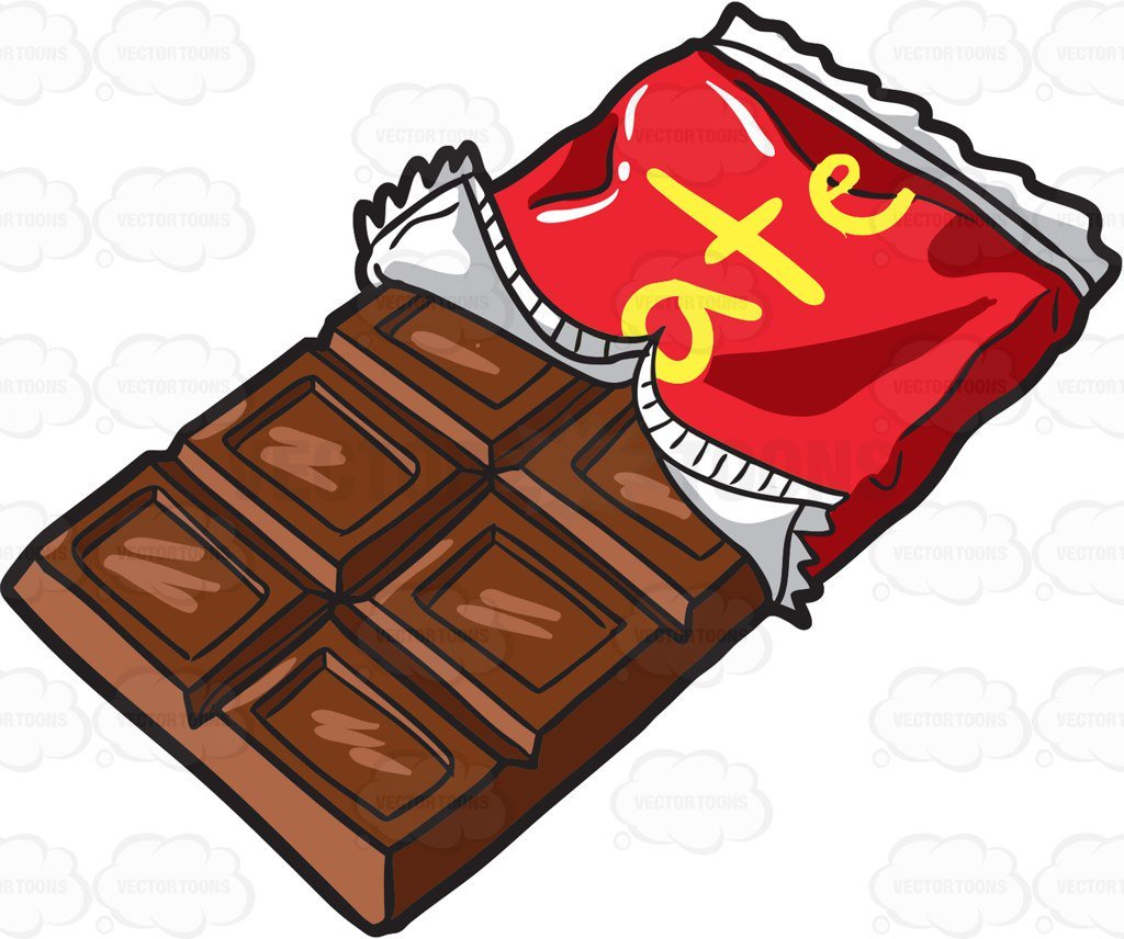Candy bar clipart svg royalty free Bar of chocolate clipart 3 » Clipart Portal svg royalty free