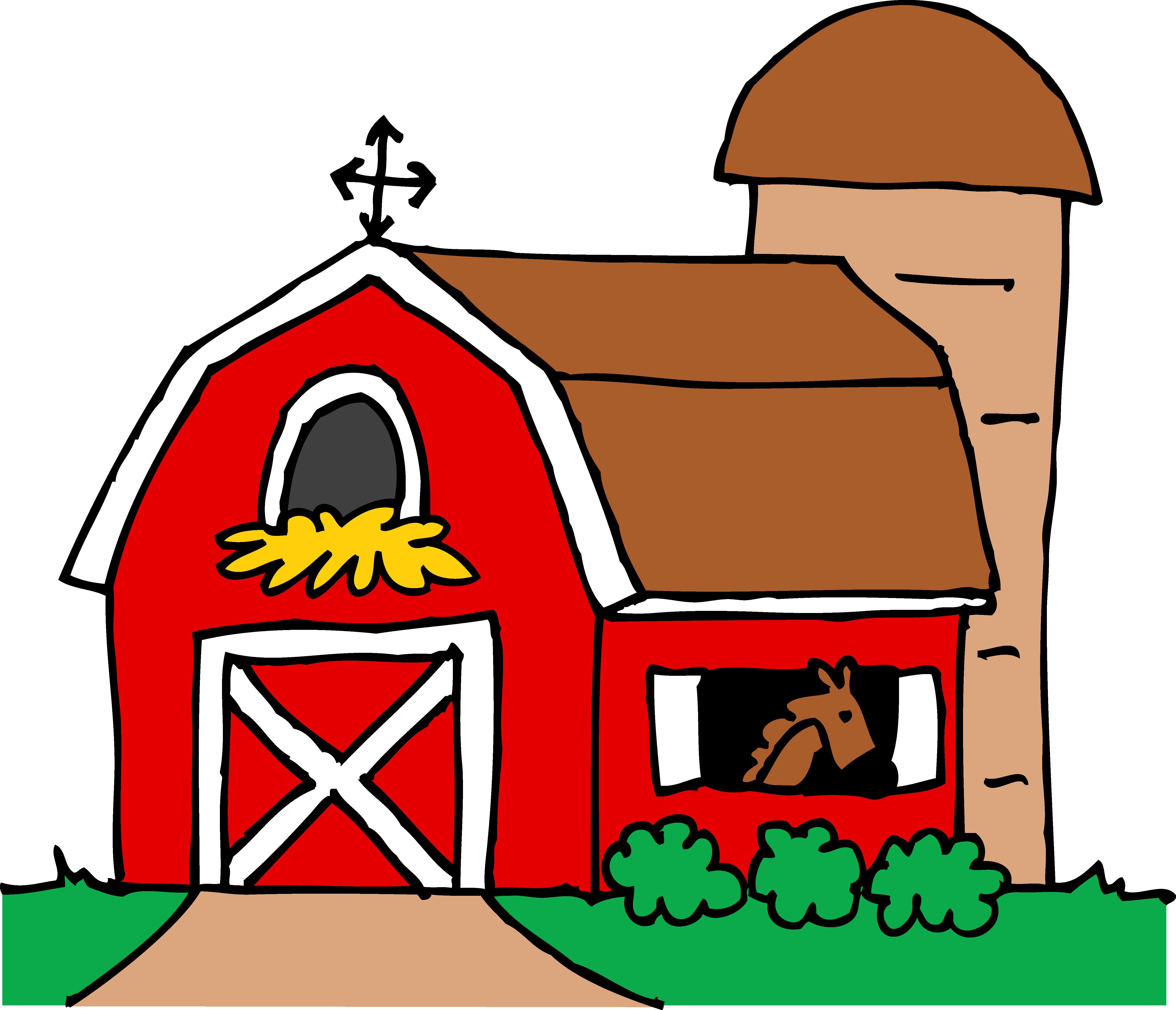 Farm cartoon clipart png freeuse stock Barn Clipart | Free download best Barn Clipart on ClipArtMag.com png freeuse stock